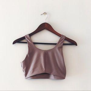 Victoria's Secret • Dusty Rose Shimmer Sports Bra